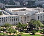 Aerial view of Congressional Office Building