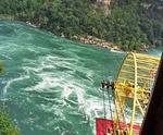 The Niagara Whirlpool near Niagara Falls, ON