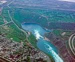 The Niagara Whirlpool near Niagara Falls, ON