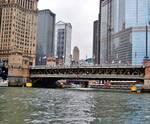 Michigan Avenue Bridge in Chicago, IL