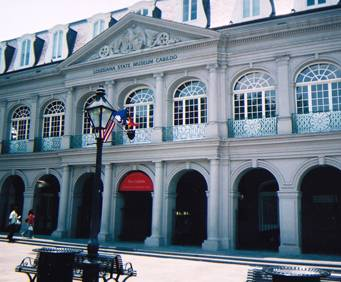 Front entrance of the Cabildo