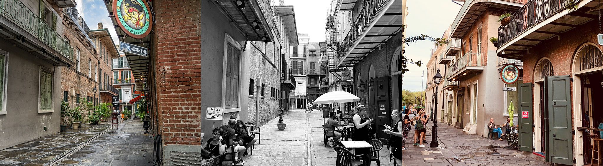 Pirate's Alley in New Orleans, LA