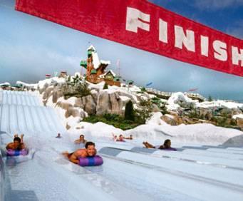 Disney S Blizzard Beach Water Park At Walt Disney World In Orlando Fl