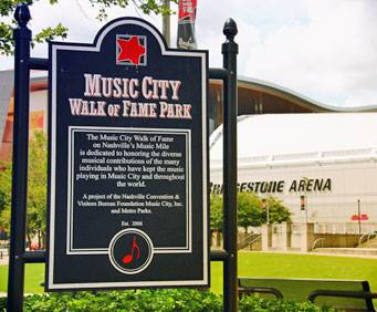 Country Music Wax Museum and the Sidewalk of Fame