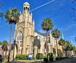 Temple Mickve Israel in Savannah, GA