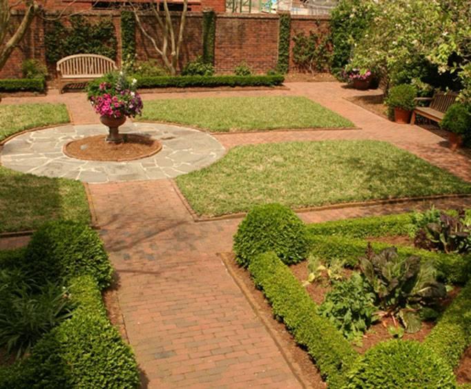Charles H Morris Center Trustees Garden In Savannah Ga
