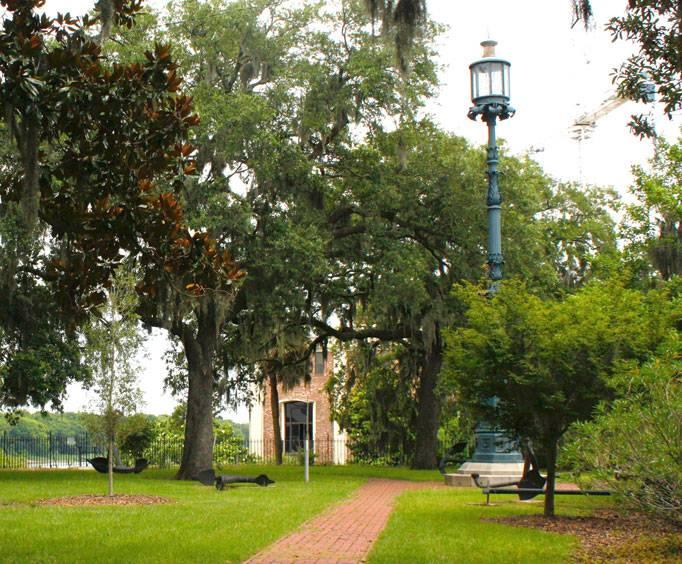 Emmet Park In Savannah Ga
