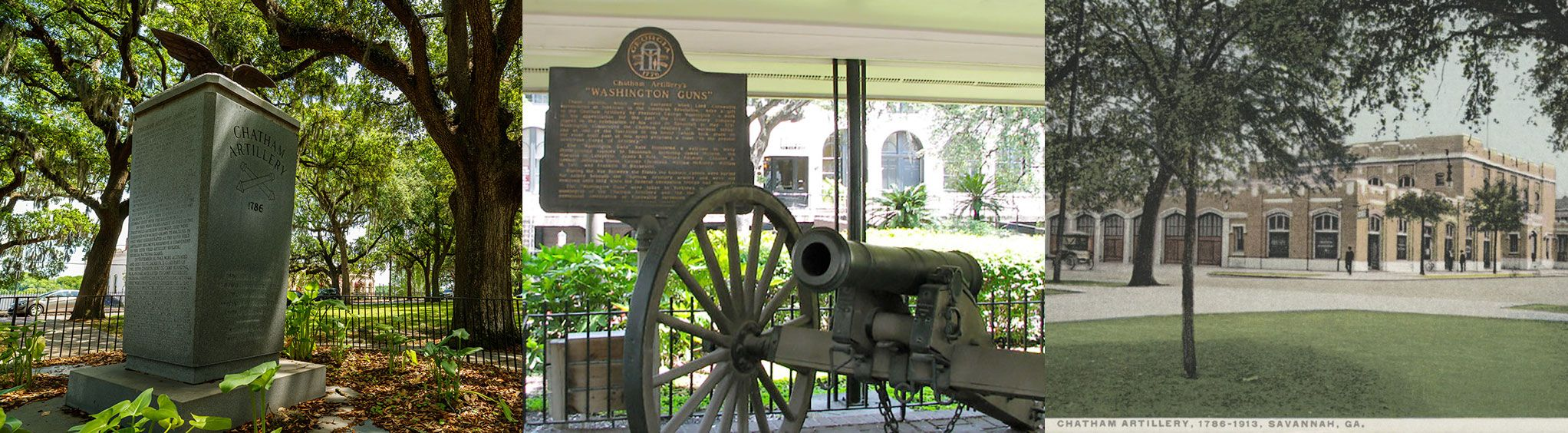 Chatham Artillery's Washington Guns