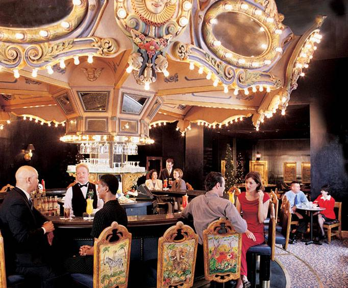 The Carousel Bar & Lounge in New Orleans, LA