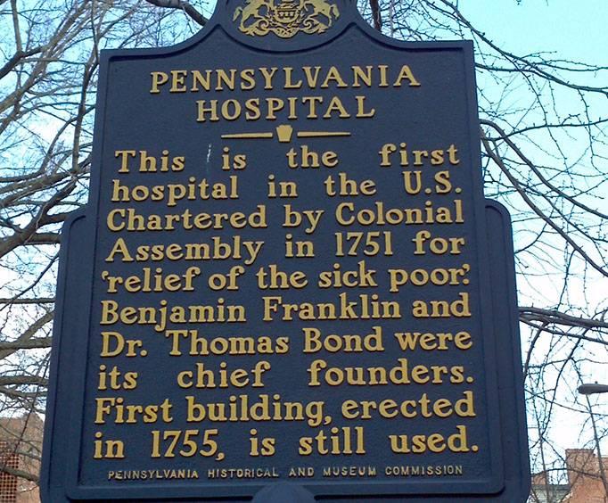 Pennsylvania Hospital In Philadelphia Pa