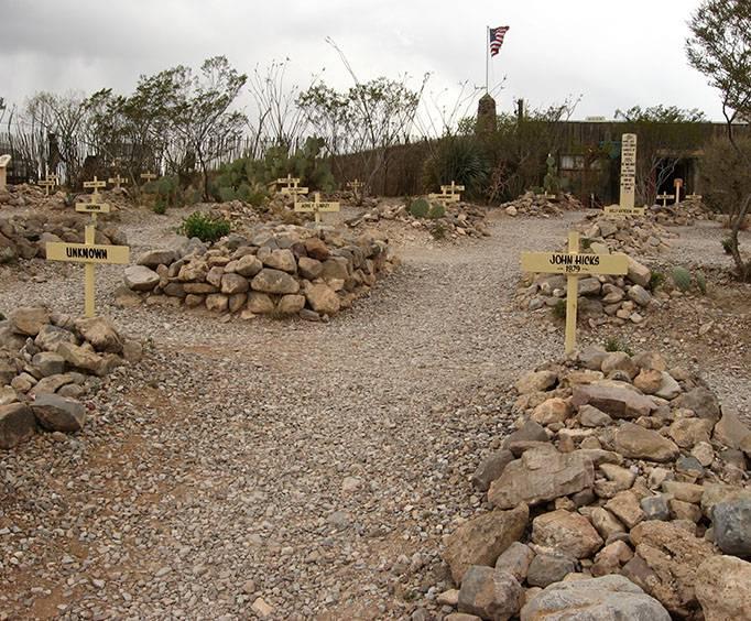 Boothill Graveyard Near Tucson Az