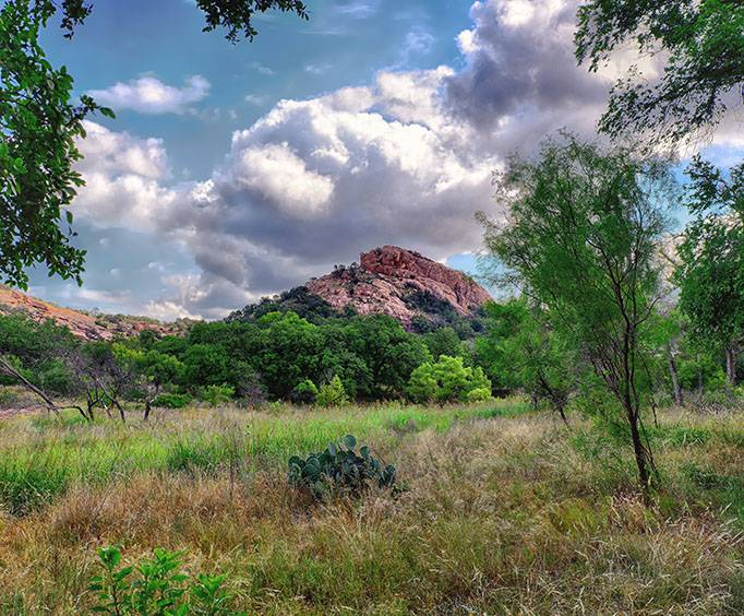 Enchanted Rock State Natural Area Near Austin Tx