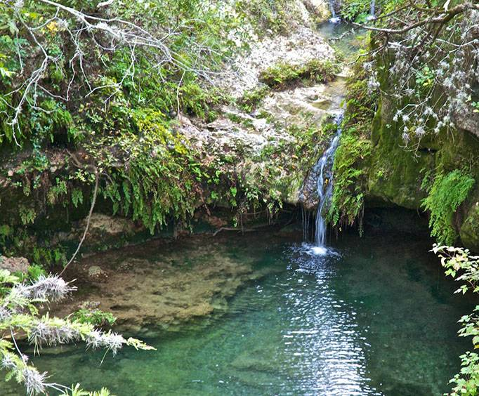 Pedernales Falls State Park Near San Antonio Tx