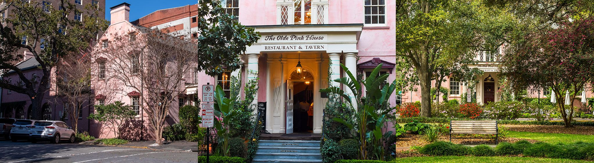 Olde Pink House in Savannah, GA