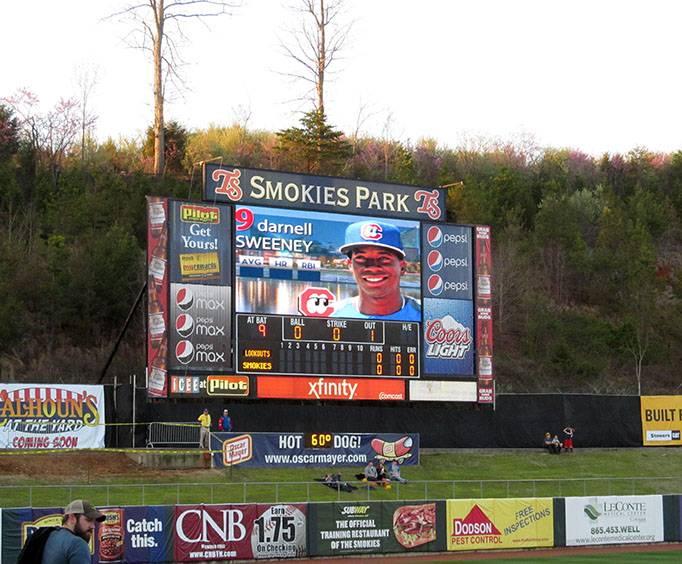 Tennessee Smokies Baseball Stadium Near Pigeon Forge Tn