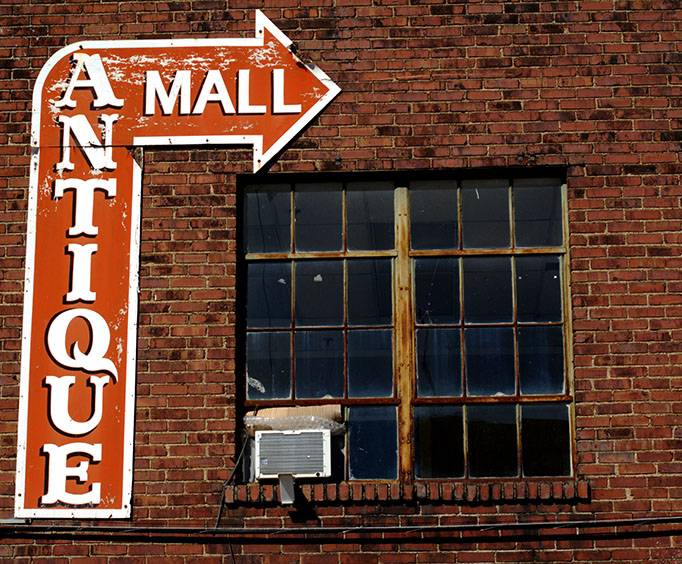 Downtown Antique Mall in Nashville, TN