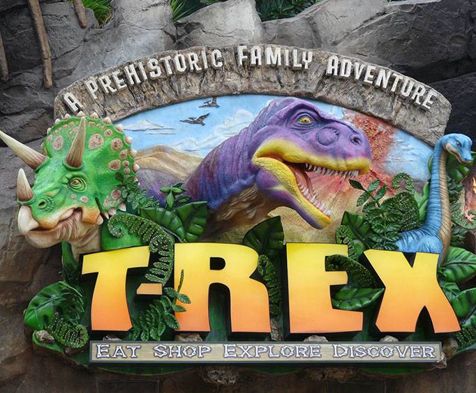 T Rex Some Dinosaurs