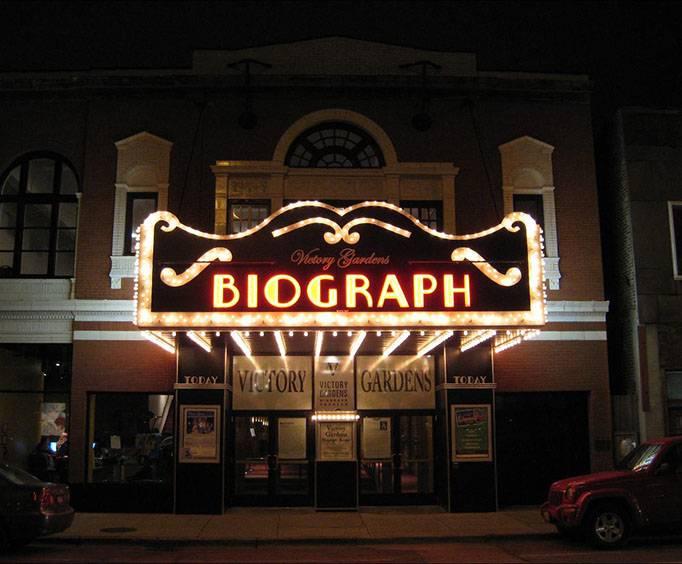 Victory Gardens Biograph Theatre In Chicago Il