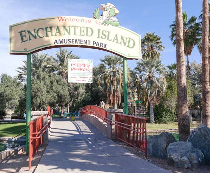 Enchanted Island Amusement Park In Phoenix Az