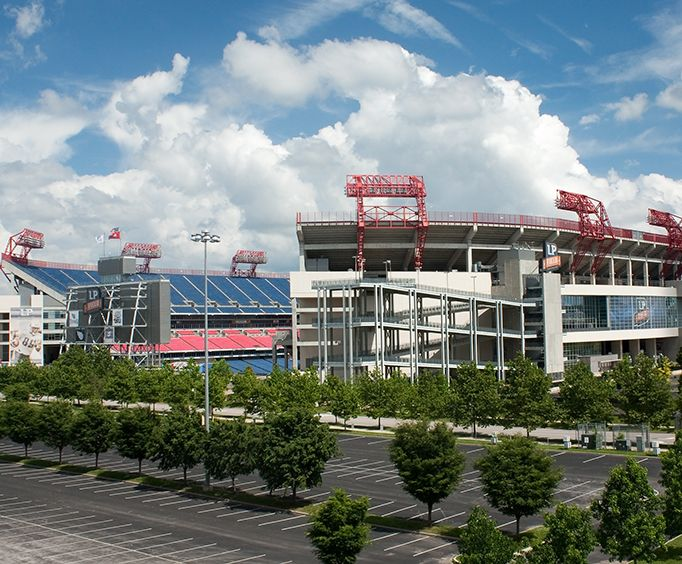 Nissan Stadium in Nashville, TN