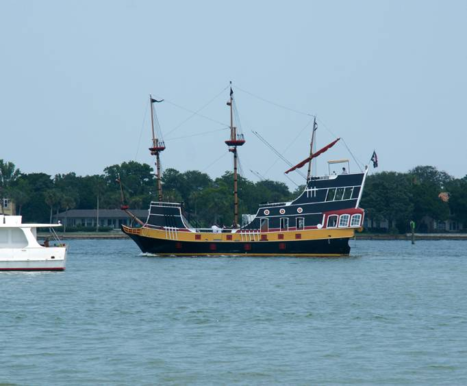 Black Raven Pirate Ship In St Augustine Fl