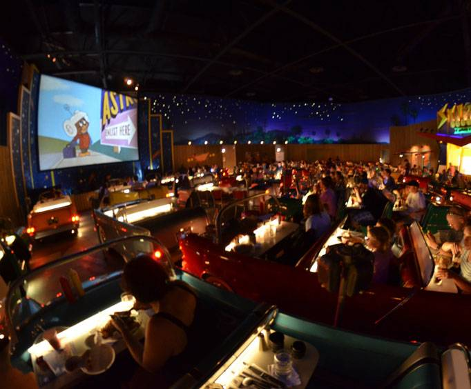 Sci Fi Dine In Theater in Orlando, FL