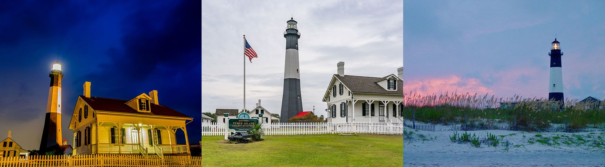 Tybee Island Lighthouse near Savannah, GA