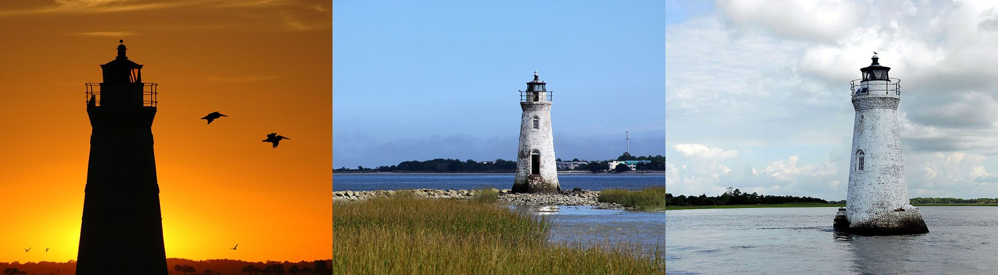 Cockspur Island Lighthouse near Savannah, GA