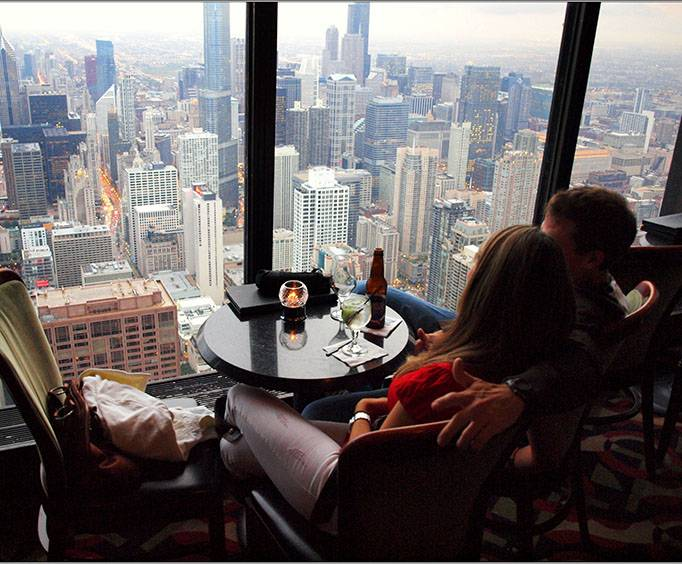 The Signature Room at the 95th in Chicago, IL