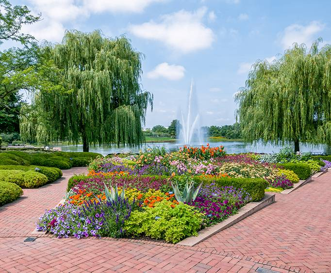 Botanic Garden Near Chicago Il