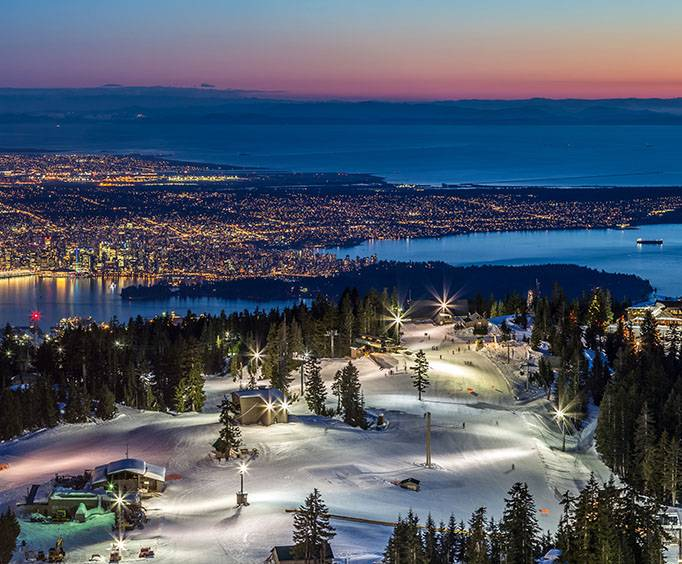 Grouse Mountain In Vancouver BC