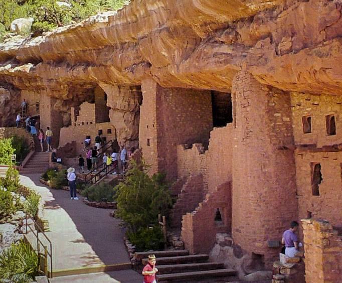 Manitou Cliff Dwellings Near Colorado Springs Co