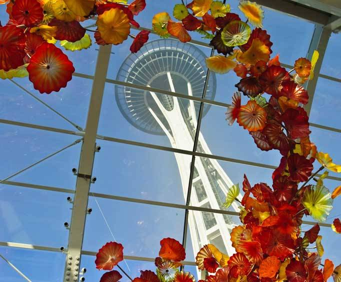 chihuly garden and glass in seattle wa - Glass Garden Seattle