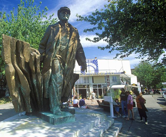 Image result for statues of lenin in seattle