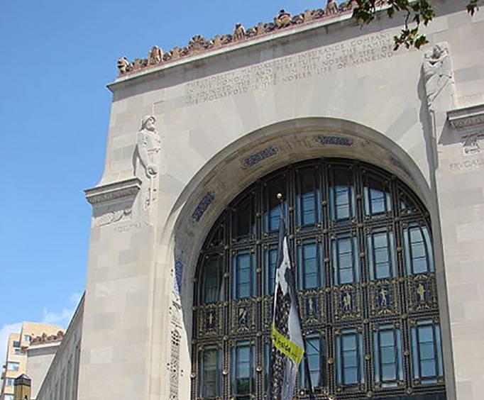 Perelman Building Of Philadelphia Art Museum In