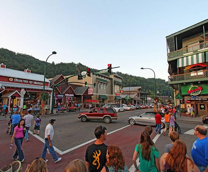 Downtown Gatlinburg Tennessee