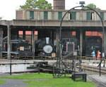 Roundhouse Railroad Museum in Savannah, GA