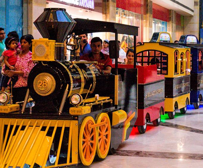 Action Time Train at Opry Mills