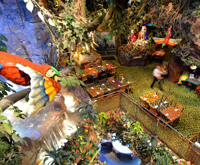 Rainforest Cafe at Opry Mills