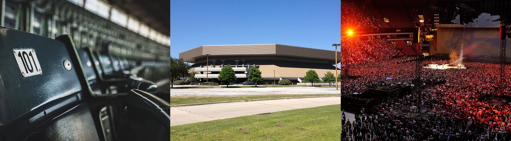 New Orleans Lakefront Arena in New Orleans
