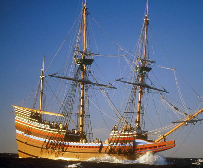 The Mayflower In Plymouth Ma