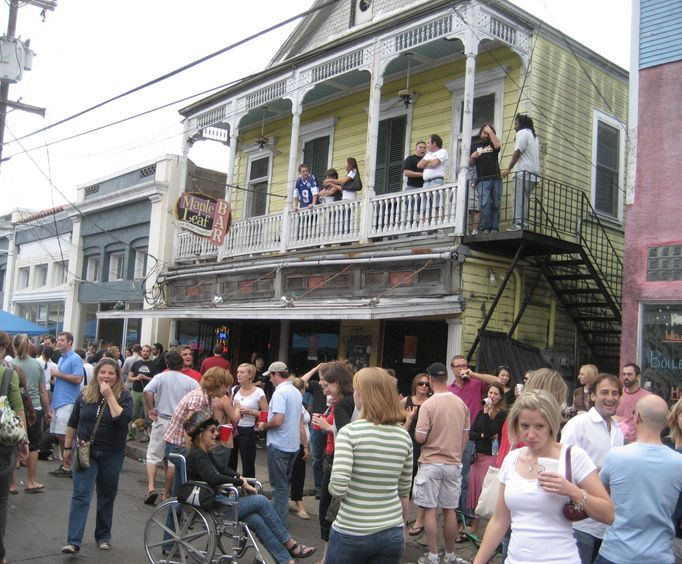 The Maple Leaf Bar  in New Orleans
