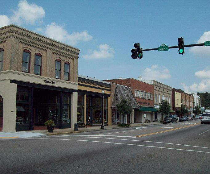 Downtown Conway near Myrtle Beach