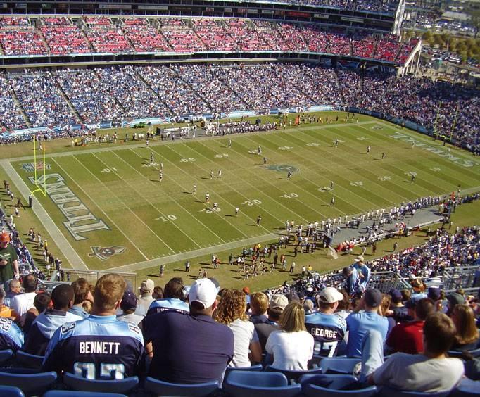 LP Field (formerly The Coliseum) in Nashville, TN