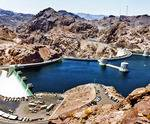 Beautiful waters of the Hoover Dam