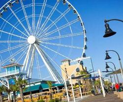 Plyer Park in Myrtle Beach, SC, big wheel