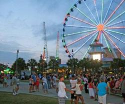 Plyer Park in Myrtle Beach, SC, ferris wheel