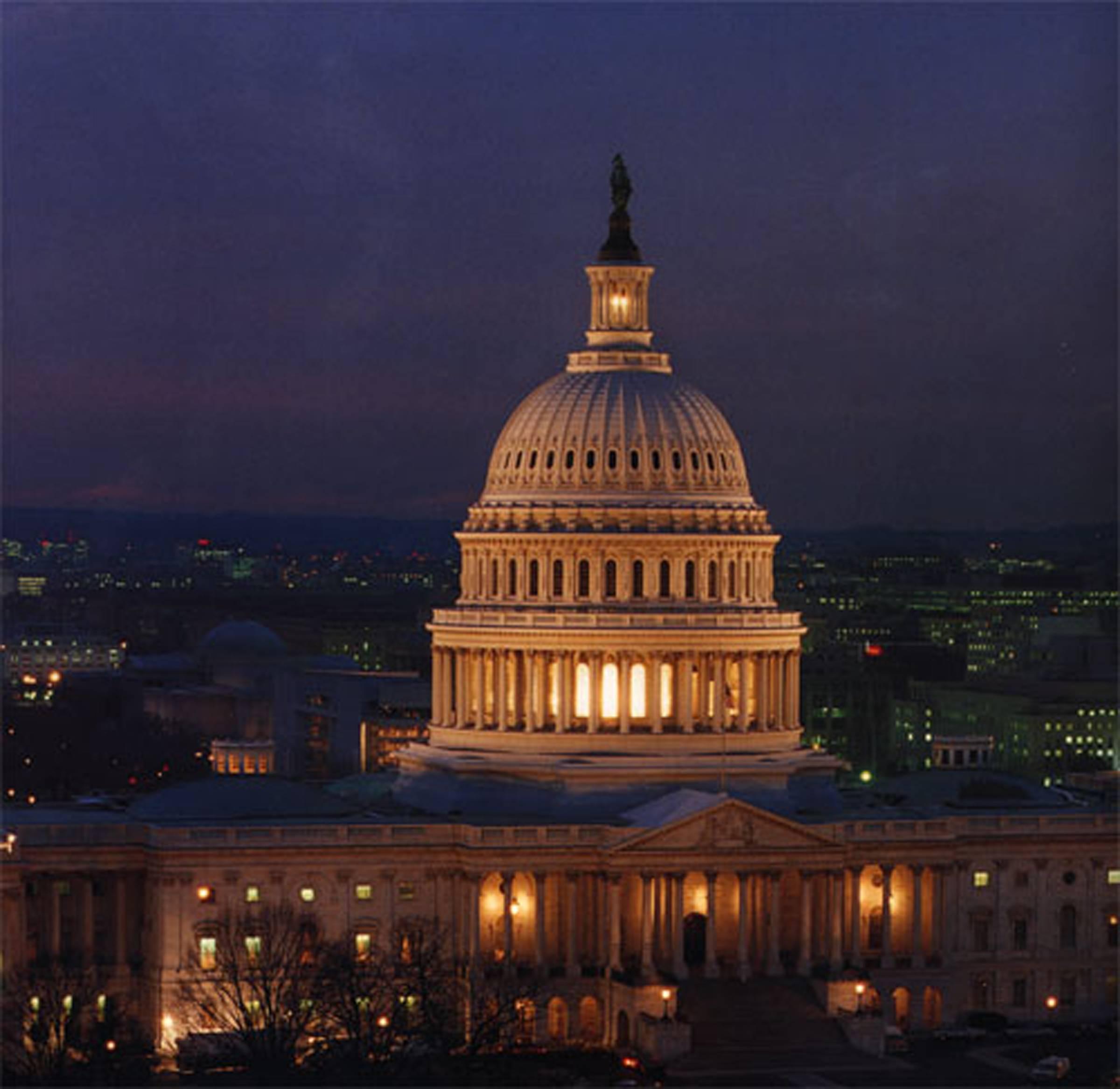 U S Capitol In Washington Dc