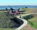 Trails along Fort Moultrie