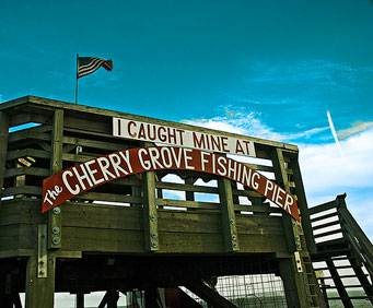 Cherry grove fishing pier in north myrtle beach sc for North myrtle beach fishing pier